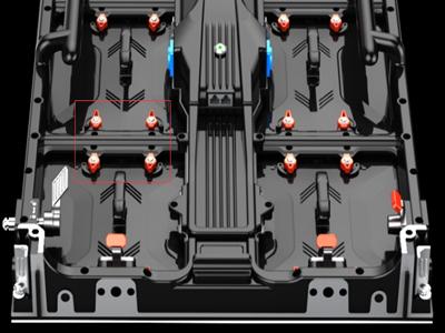 quick installation knob for MAGIC1000 LED display screen