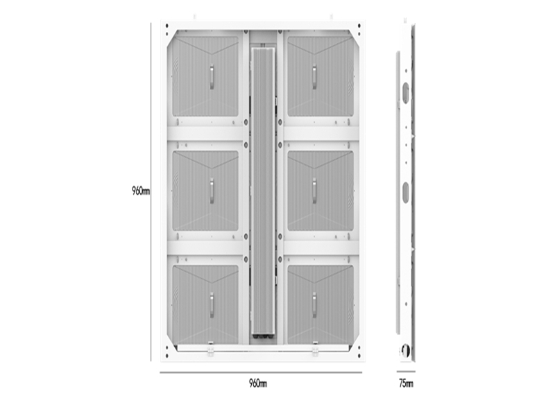 Parameters of ev960 outdoor LED cabinet