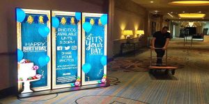 hotel smart LED poster