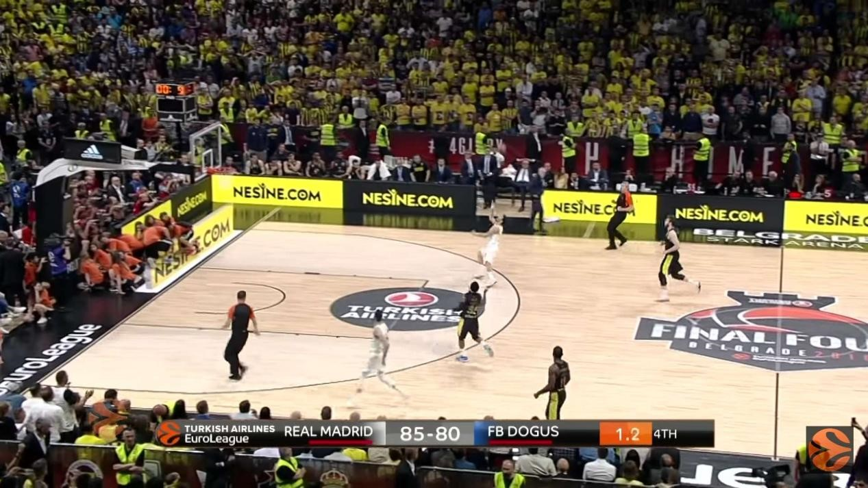 P5mm Stadium Perimeter LED Display For Basketball Hall In Serbia