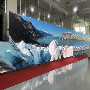 P5 960 640mm giant LED rental screen to Nigeria
