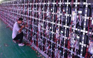 MA480 indoor fixed led display