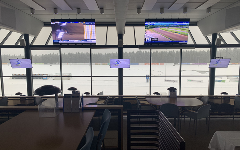 P5 indoor LED display to Finland, indoor led display module