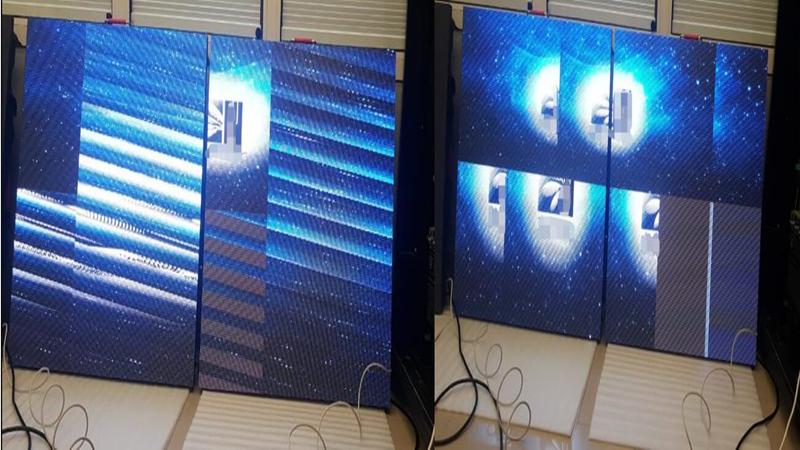 led display configuration