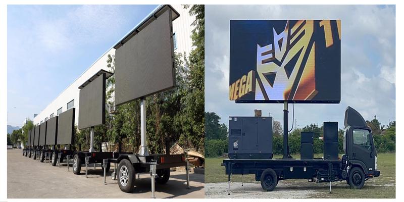 led truck screen