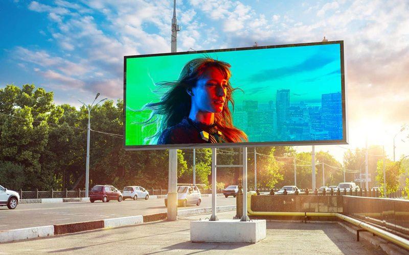 Linsn LED billboard