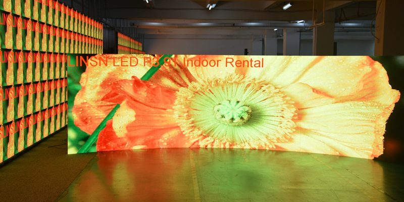 Linsn P3.91 Indoor rental LED screen