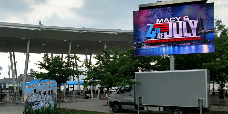 Mobile LED Screen Rental Event