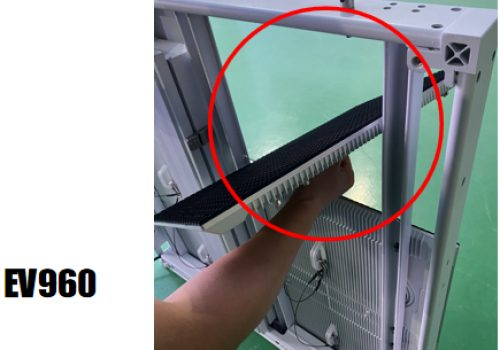 installation and dual maintenance of EV960 outdoor LED display