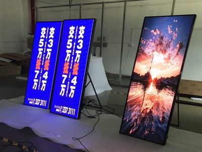 standing-led-poster-screen
